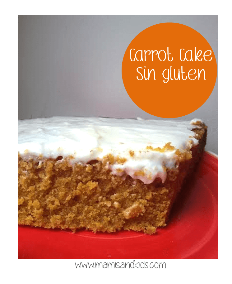 Carrot Cake Sin Gluten