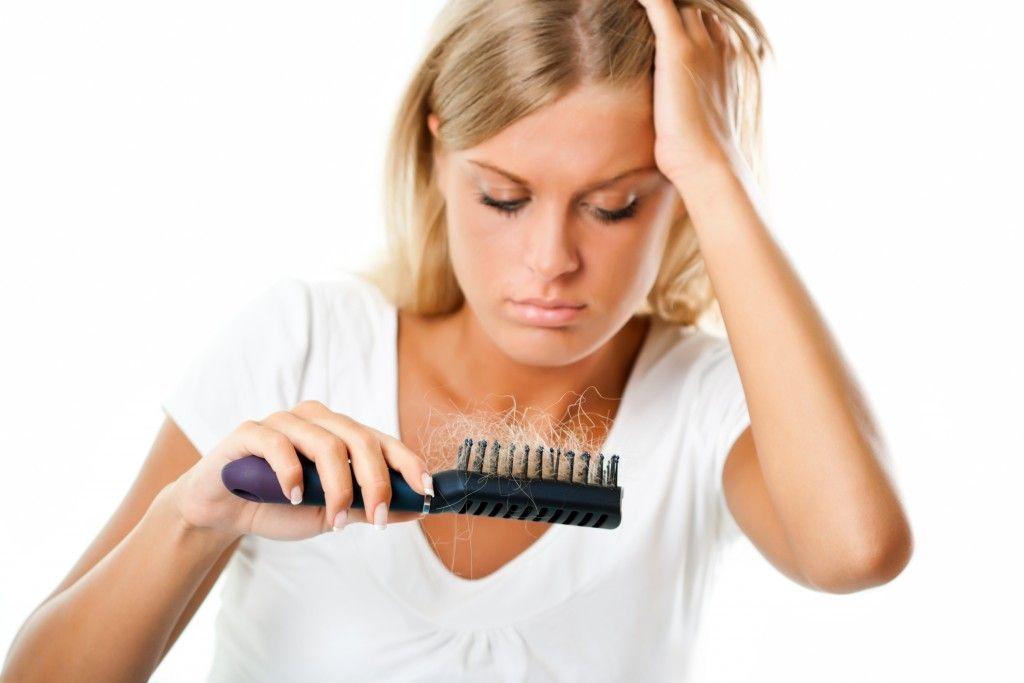 Caída del pelo en el postparto.