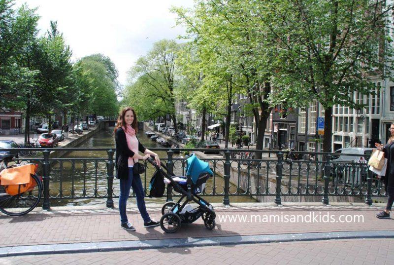 En Ámsterdam con bebé