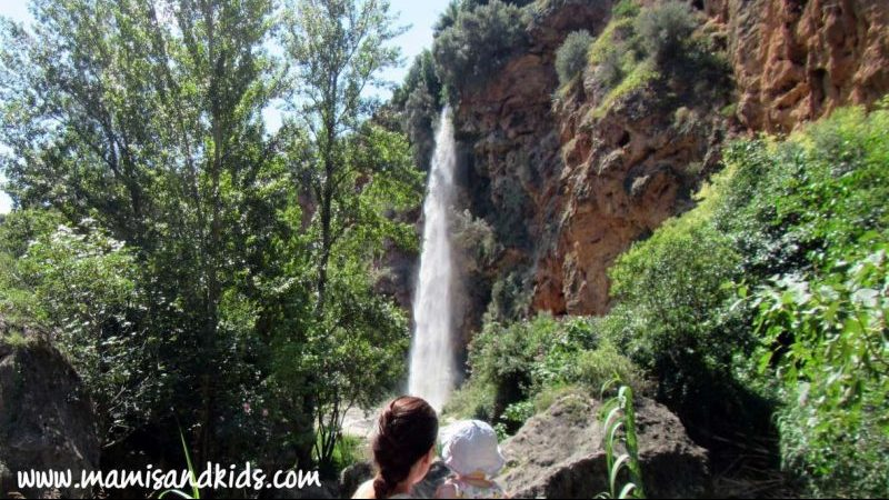 La casca de El Salto de la Novia en Navajas