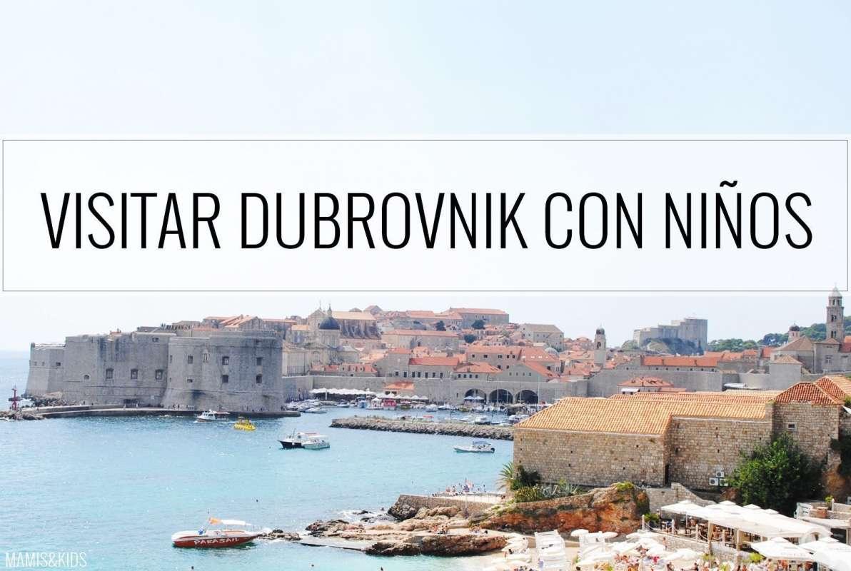 Dubrovnik con niños