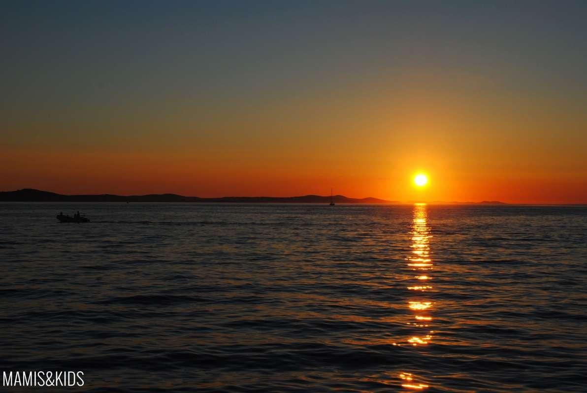 Puesta de sol Zadar