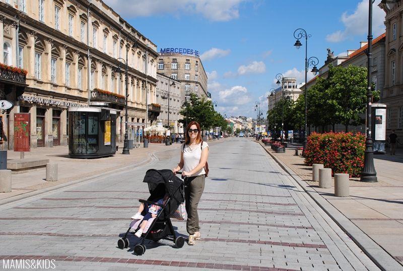 En Varsovia con niños