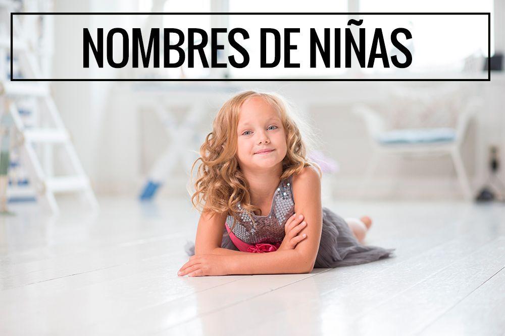 Listado con nombres de niñas más utilizados en España