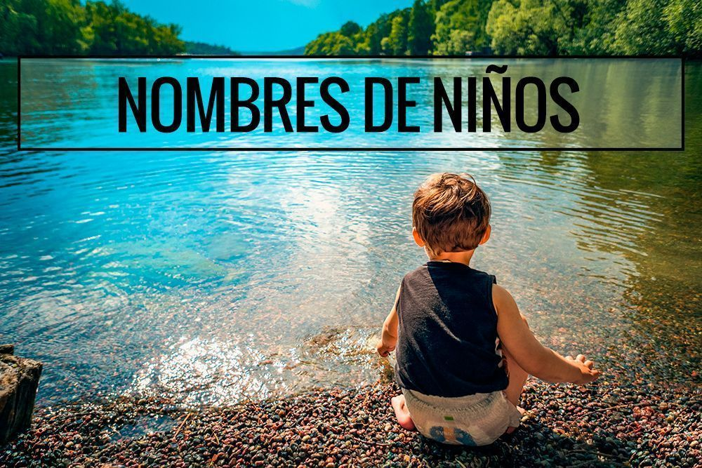 Listado con nombres de niños más utilizados en España