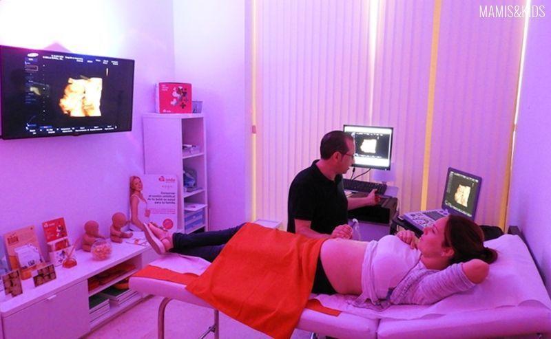 La sala de la ecografía 4D con ECOX