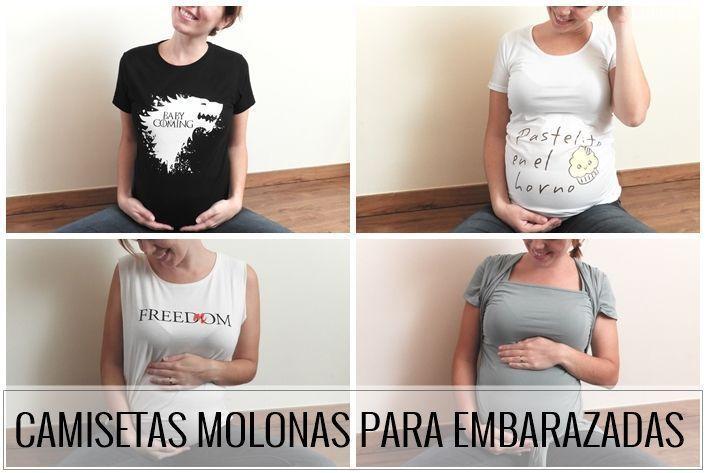 29d0840ec Camisetas molonas para embarazadas