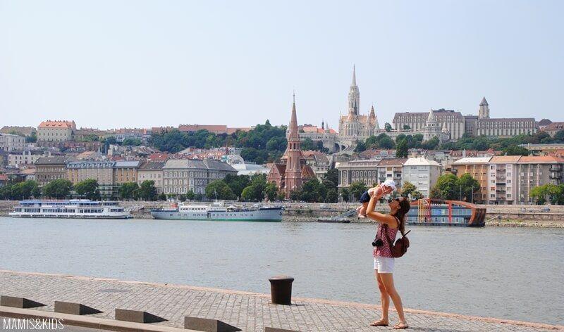 Vista de Budapest desde el río
