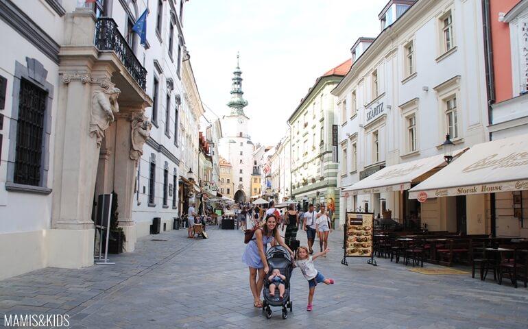 Visita en familia a Bratislava