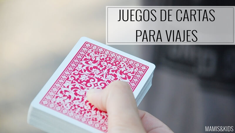 juego de cartas para viajes