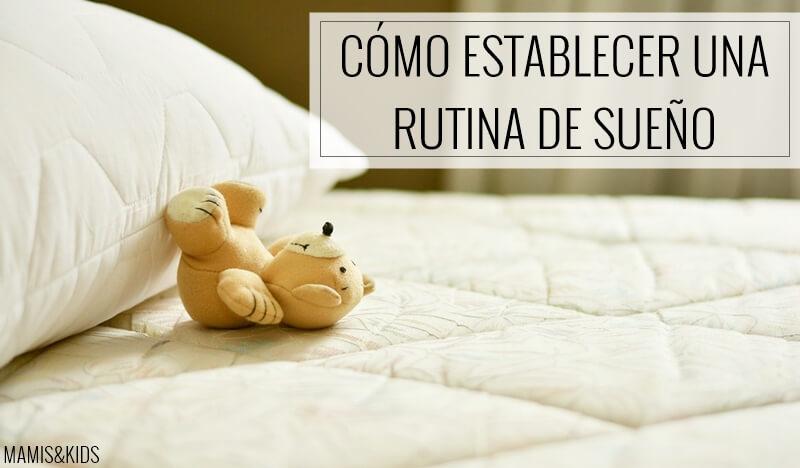 Rutina de sueño
